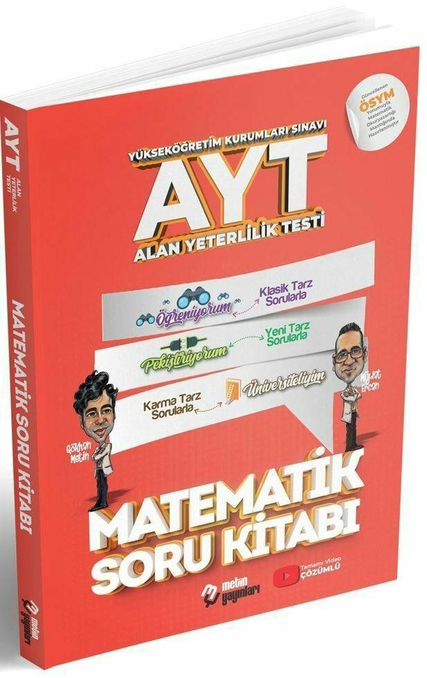 Metin Yayınları AYT Matematik Soru Bankası (2019-2020)