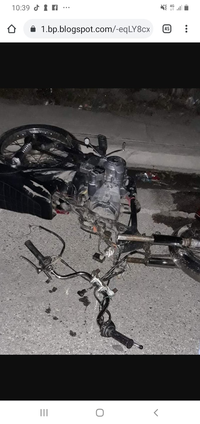 Muere un hombre  durante accidente de tránsito en Vicente Noble Leo Corniel  2 days ago  Local