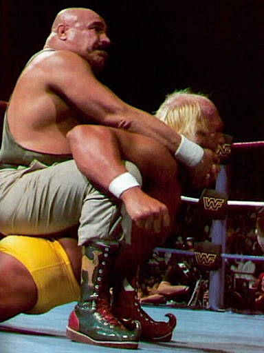 Iron Sheik Camel Clutch