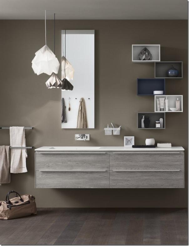 Il progetto perfetto per il bagno beinda case e interni - Arredo bagno moderno offerte ...
