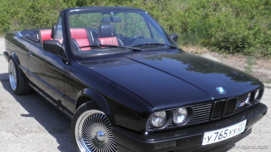 1992 Bmw 3 Series Convertible Specifications  Pictures  Prices