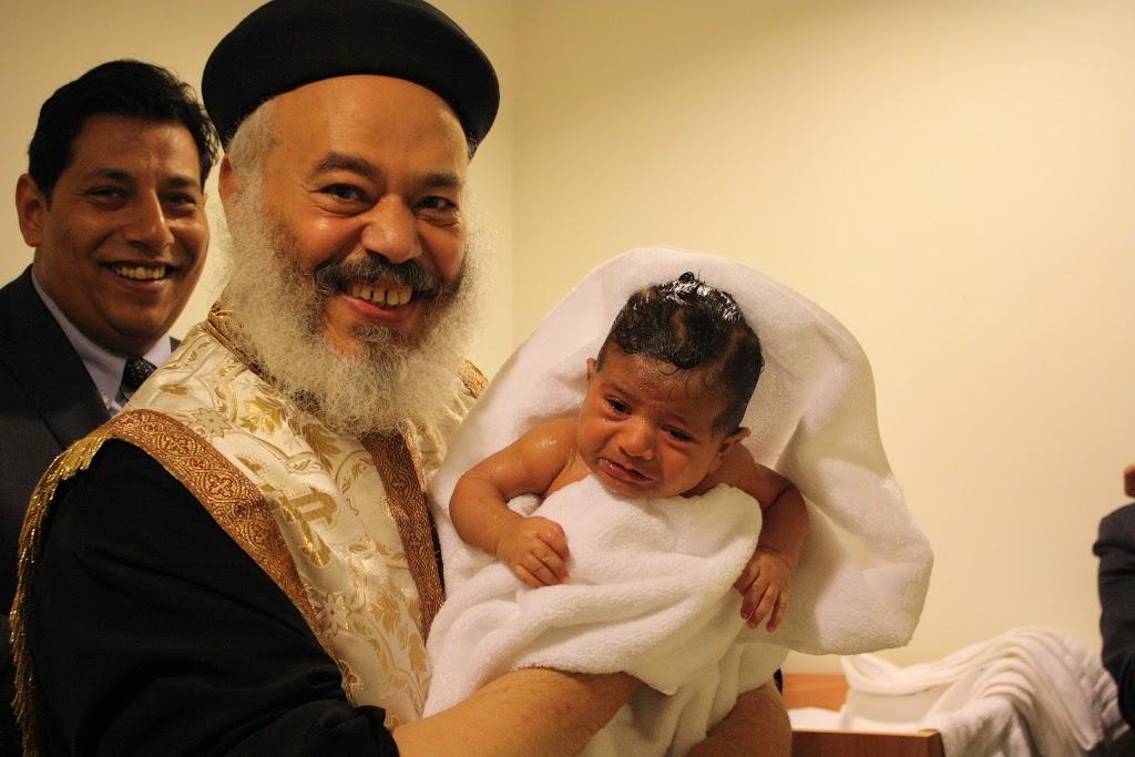 David (Karas) Baptism