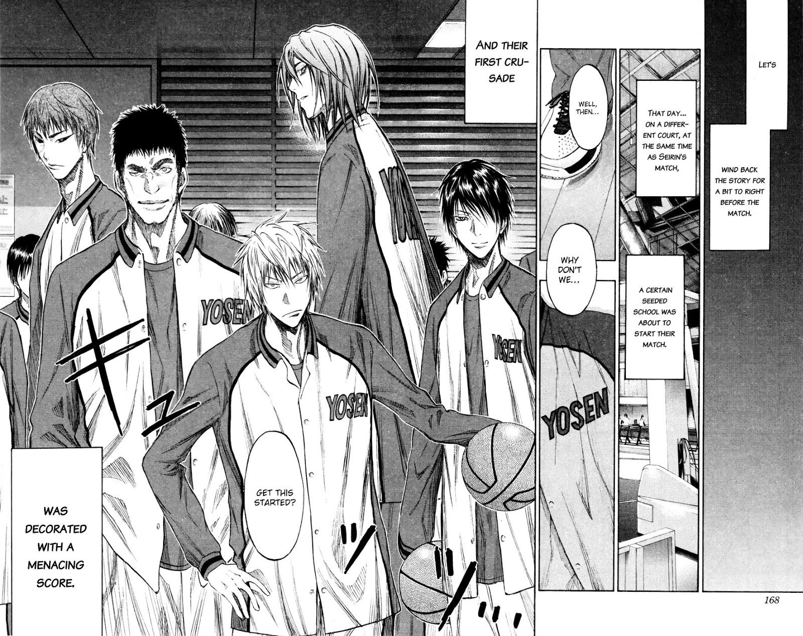 Kuroko no Basket Manga Chapter 143 - Image 18-19