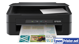 Reset Epson ME-100 printing device with tool