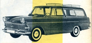 Opel Rekord break 1960