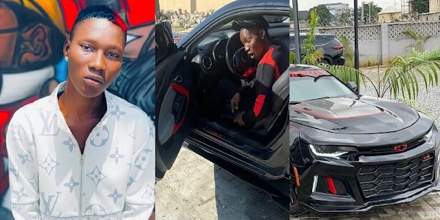Marlians Signee Zinoleesky, acquires a multimillion naira super-car (Video)