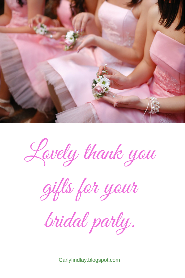 Thank You Gifts For Wedding Party: Tune Into Radio Carly: Lovely Thank You Gifts For Your
