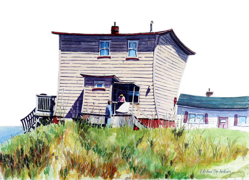 Romeo and Juliet. Newfoundland Artist Keli-Ann Pye-Beshara