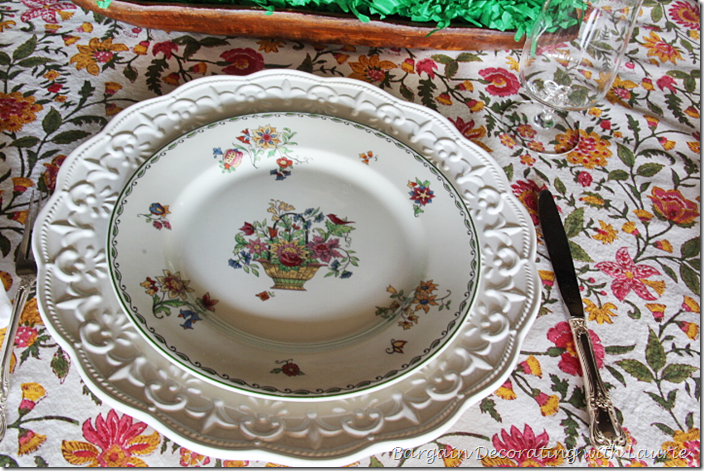 Syracuse China Roslyn pattern