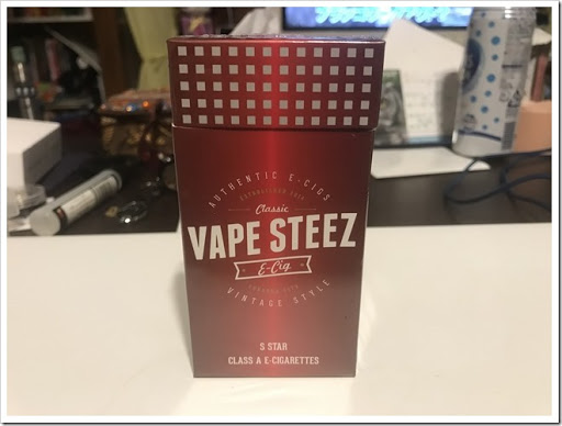 IMG 3874 thumb - 【リトルシガー?】VAPE STEEZオリジナル使い捨て電子タバコレビュー!禁煙薬ブプロンSRを取り寄せて飲んでみた話【個人輸入】