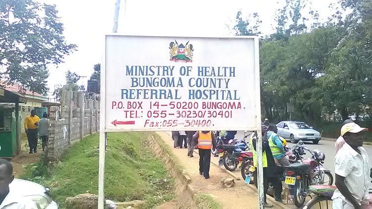Bungoma county referral hospital. PHOTO | FILE