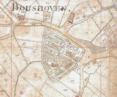 Boshovenschans, Weert, NL (Oud kadaster)