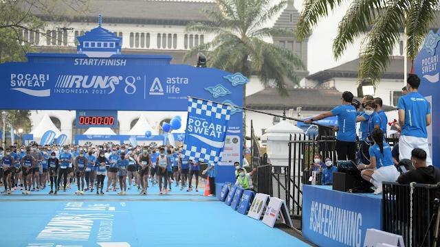 POCARI SWEAT RUN INDONESIA  2021  Ridwan Kamil: Jadilah Event Percontohan Taat Prokes