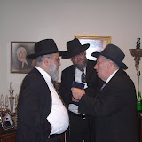 Monsey Melava Malka Kumzitz with R' Baruch Levine at the home of Mr.& Mrs. Moshe Hertz