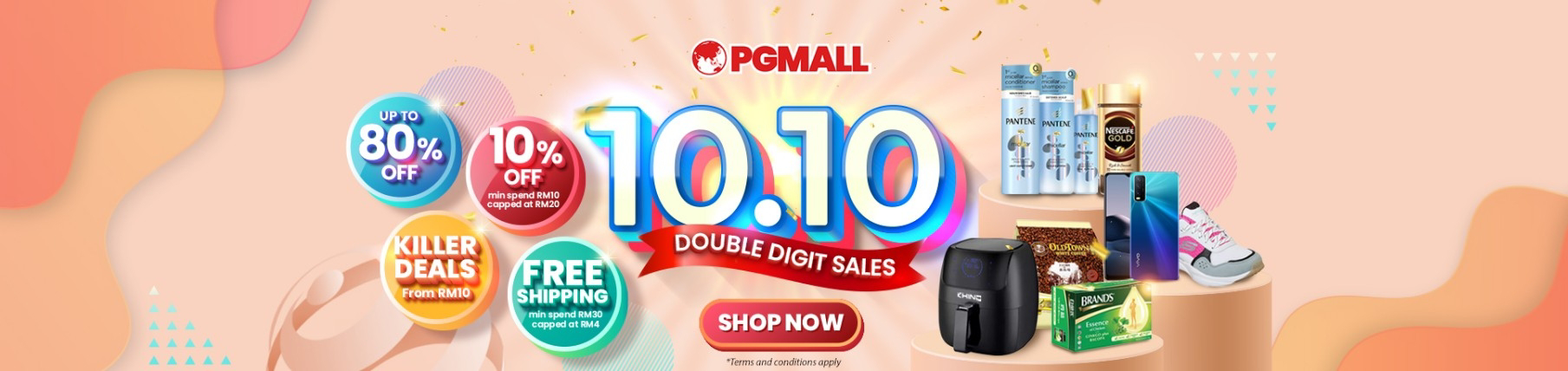 PG MALL 1010 Sale