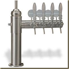 ECLIPSE - эксклюзивные пивные колонны в виде полуарки
