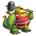 Dragón Forzudo | Strongman Dragon