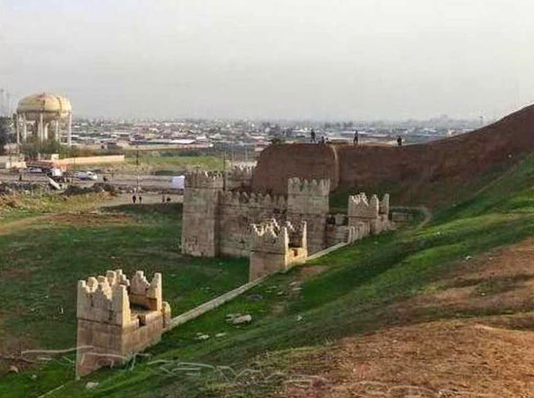 ISIS threatens to blow up historical walls of Nineveh
