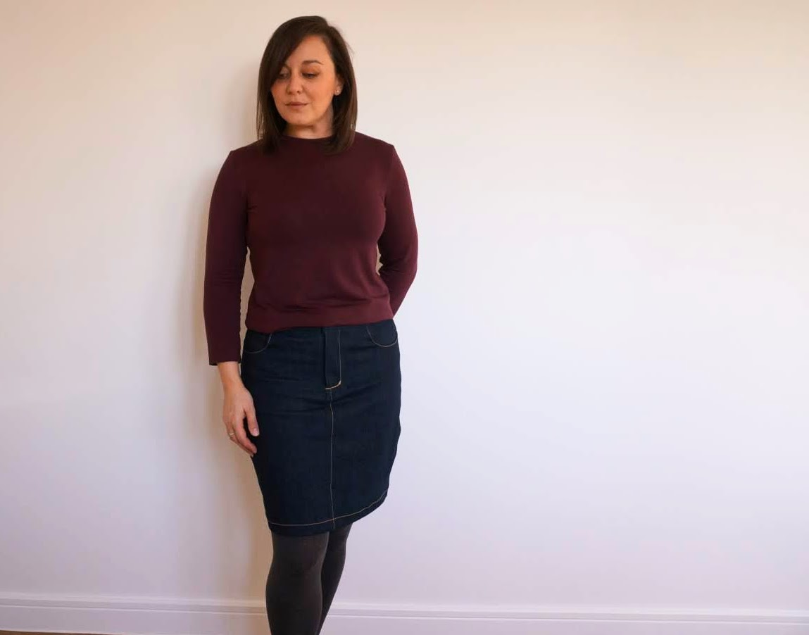 TIlly and the Buttons Freya sweater three ways