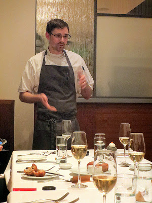 Chef Justin Woodward at Castagna