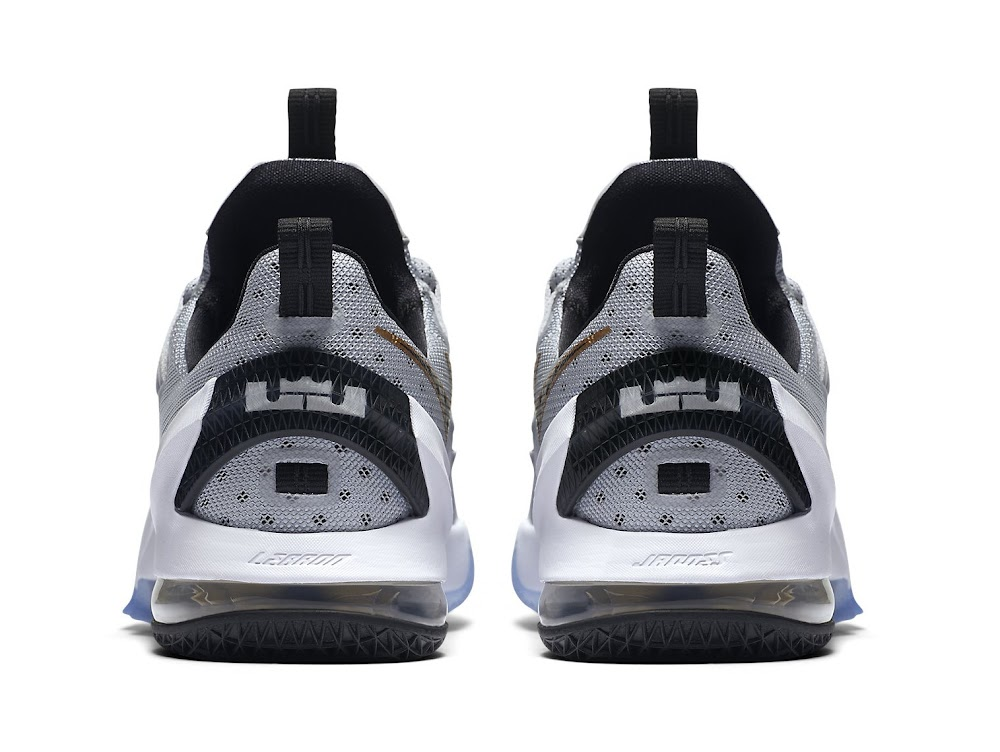 detailed look 0716b 72b07 ... Preview of Upcoming Nike LeBron XIII 13 Low Cool Grey ...