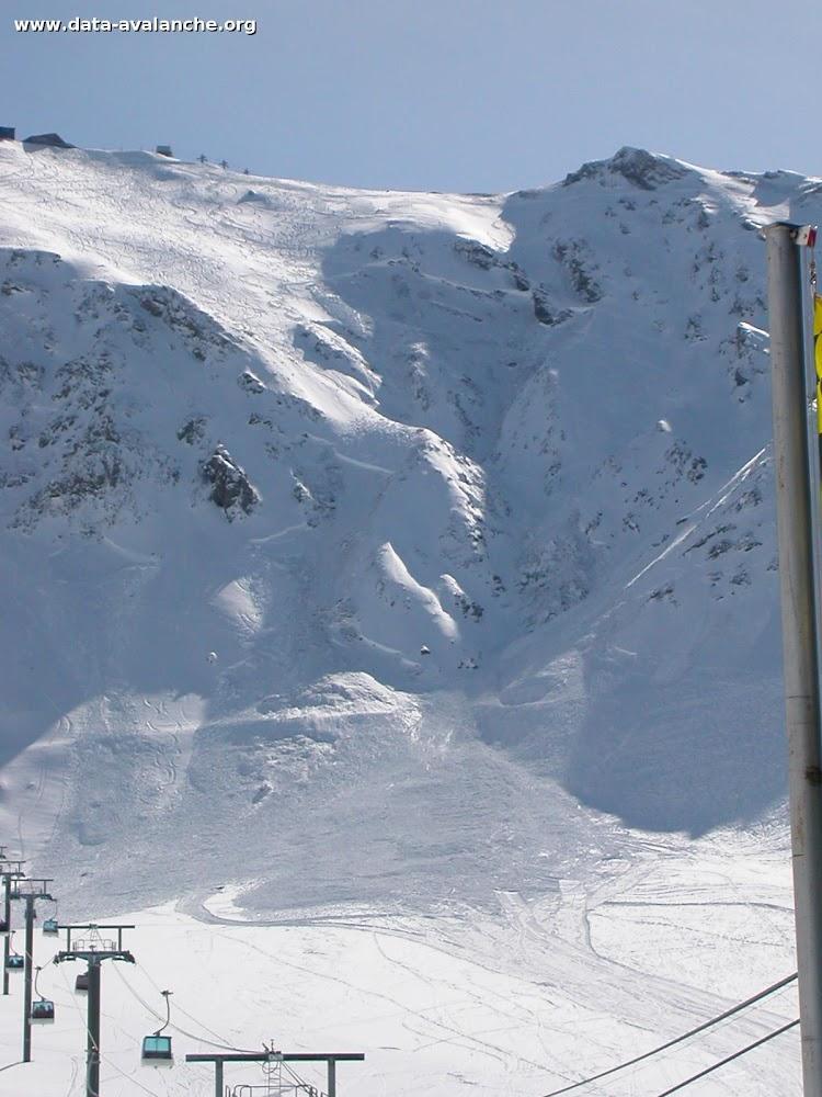 Avalanche Mont Thabor, secteur Punta Bagna, Couloir de la Banane - Photo 1