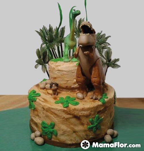 pastel de dinosaurios - 13