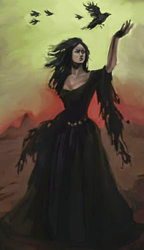 A Prayer To The Morrigan
