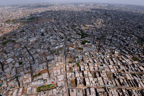 "Arial view of ""Dhamial"" Rawalpindi."