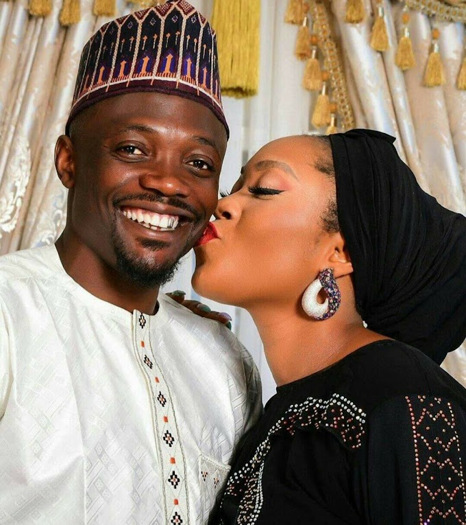 Super Eagle Star Ahmed Musa called out by Muslims for posting photo of his wife kissing him on the cheek