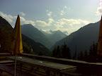 Blick von der Bacherwandalm zum Zuckerhüttl (3507 m)