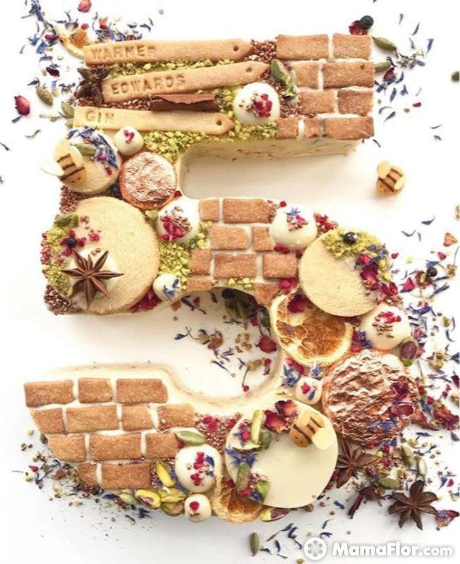 tortas con números 9