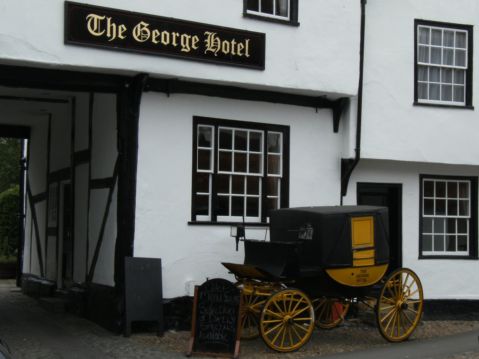 1006190009 The George Hotel, Dorchester-on-Thames