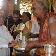 President Of India  At Tirupati Temple