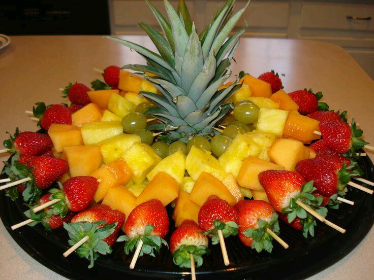M s y m s manualidades originales formas de servir frutas - Platos originales y faciles de hacer ...