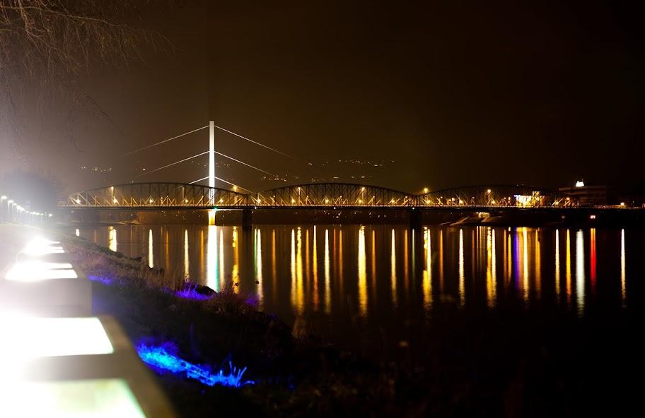 Eisenbahnbrücke Linz