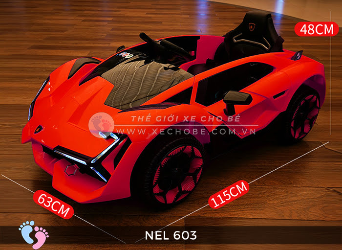xe ô tô điện trẻ em Lamborghini NEL-603 11