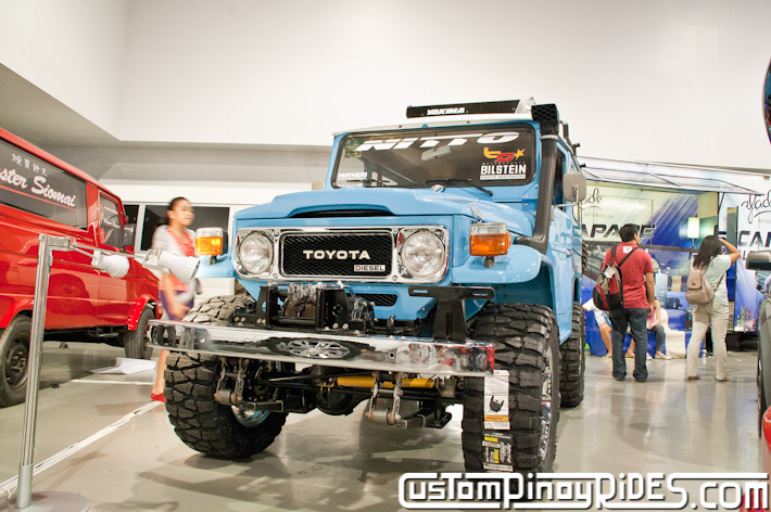 Toyota FJ40 Old School Off-Roader Custom Pinoy Rides Car Photography Manila Philippines