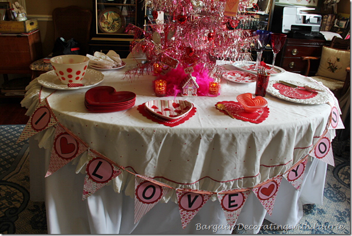 I Love You Tablescape