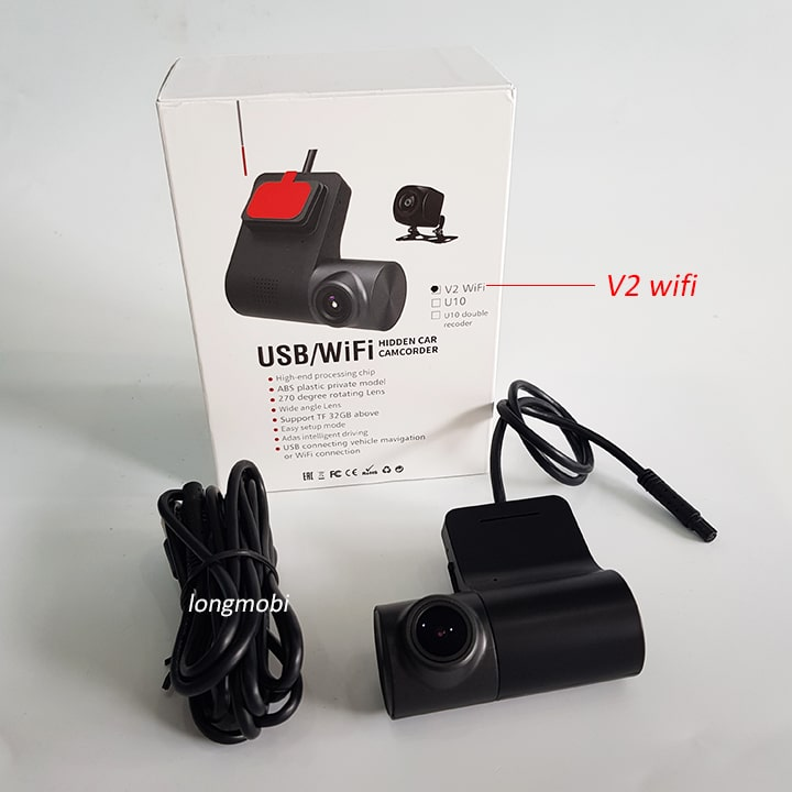 camera hanh trinh u10 v2 wifi
