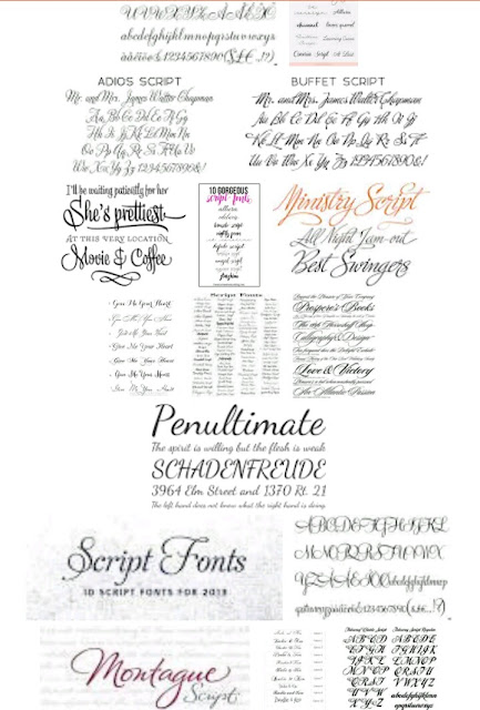 Choosing a good font for your blog