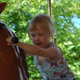 Jipiee! Een paardenmolen!!