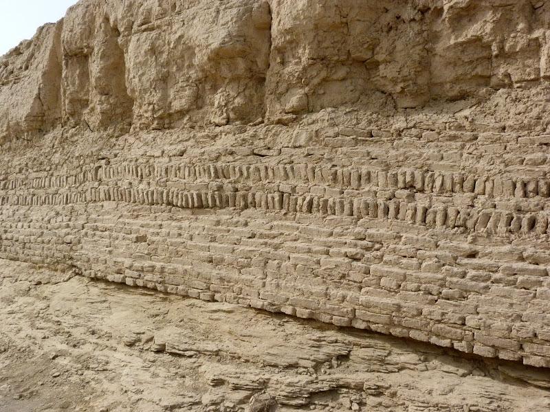 XINJIANG.  Turpan. Ancient city of Jiaohe, Flaming Mountains, Karez, Bezelik Thousand Budda caves - P1270819.JPG