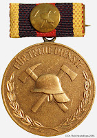 169 Feuerwehr TD Gold 40 medailles