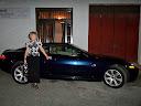 Obsequio que me hicieron de un Jaguar al finalizar la presentación... es broma. El coche era propiedad de uno de los asistentes al acto.
