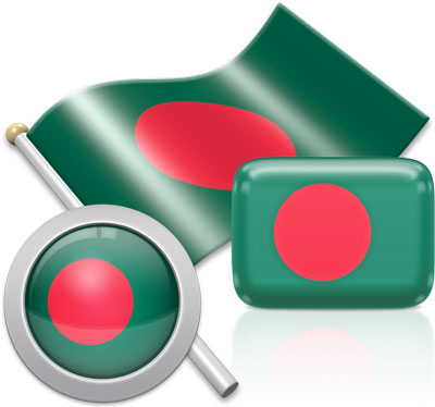 Bangladeshi flag icons pictures collection
