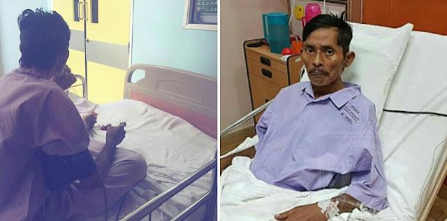 Saleem iklim dirawat di rumah sakit