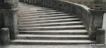 Cour d'honneur : escalier