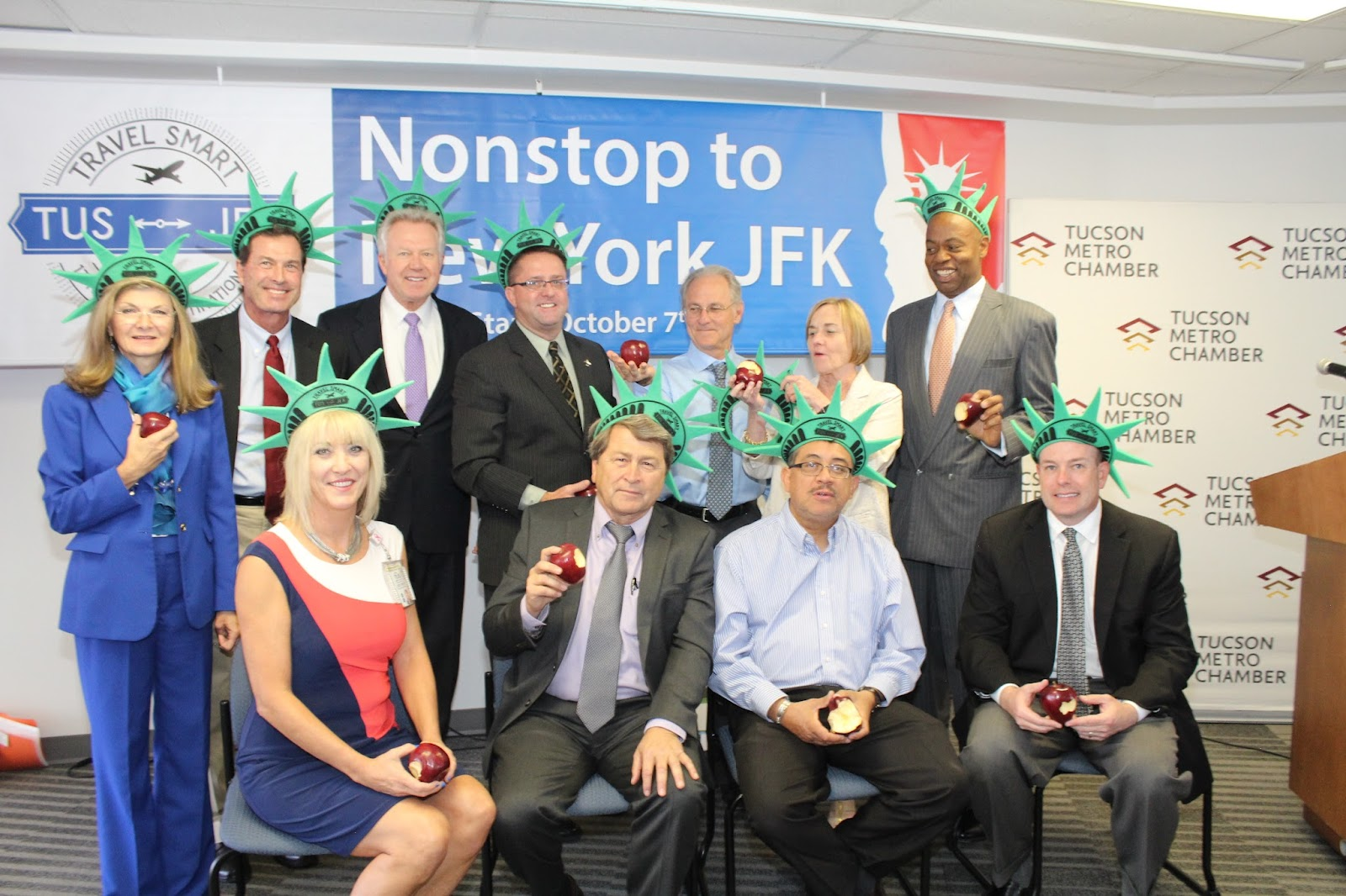 Tucson - JFK Non-Stop Route Announcement - IMG_3241.JPG