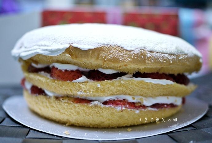 3 佳樂藝術蛋糕舖草莓波士頓派